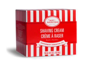 peppermint shaving cream review
