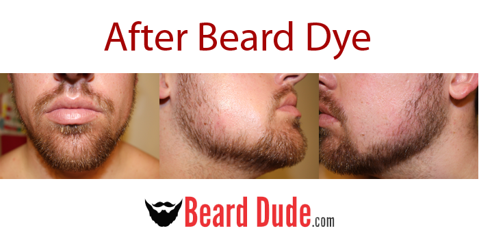 How To Dye Your Beard With Just For Men Beard & Mustache